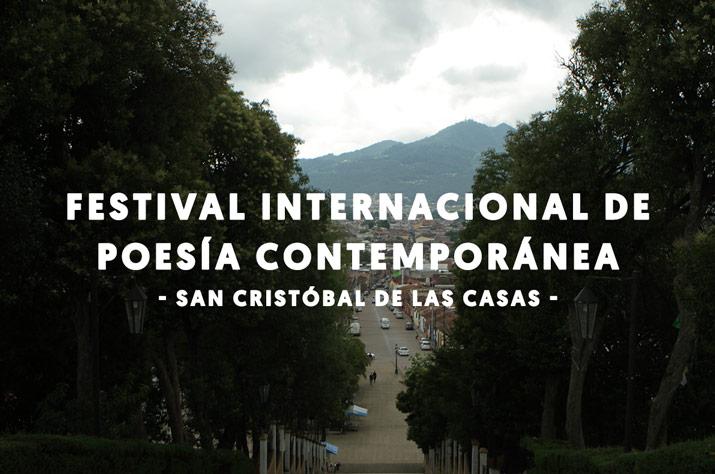 Festival Internacional de Poesía de San Cristóbal de las Casas, 2017