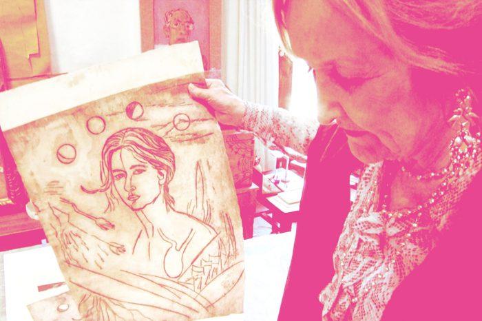 """""""Hay que pintar nuestra identidad"""": Rina Lazo. Un mural en la historia mesoamericana"""