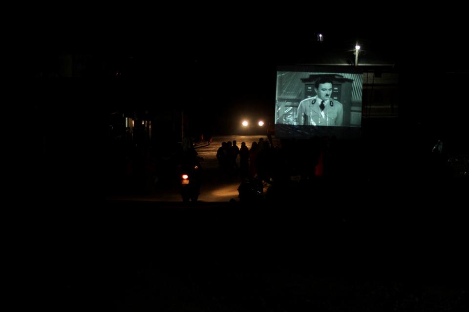 Nebaj y el Festival de Cine en la Calle