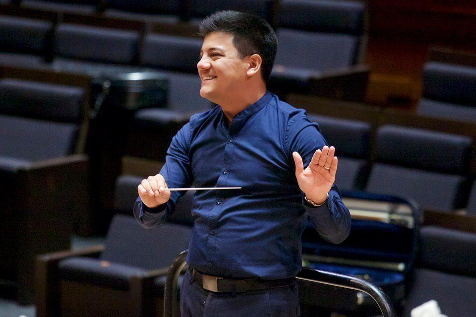 Guatemalteco Bruno Campo destaca en concurso internacional de Dirección de Orquesta en Francia