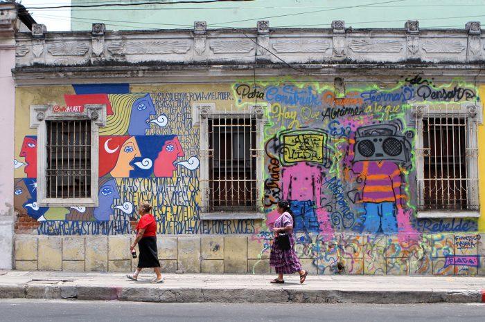 Poesía y Graffiti en las calles
