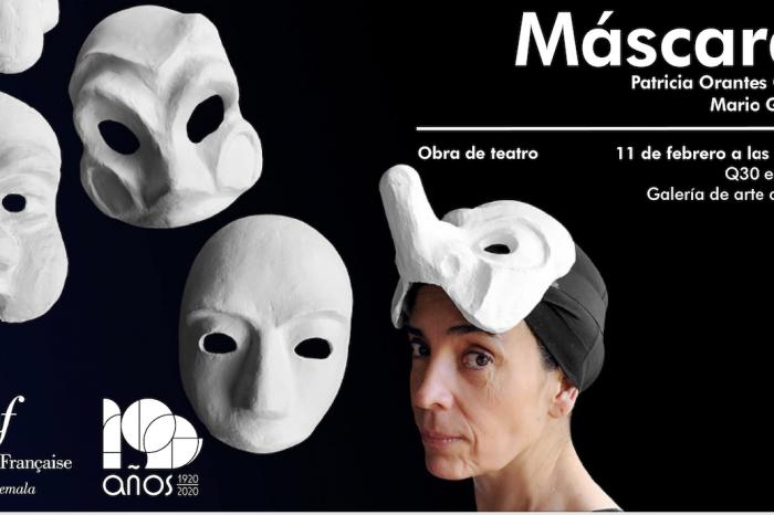Máscaras, una obra de Patricia Orantes y Mario González