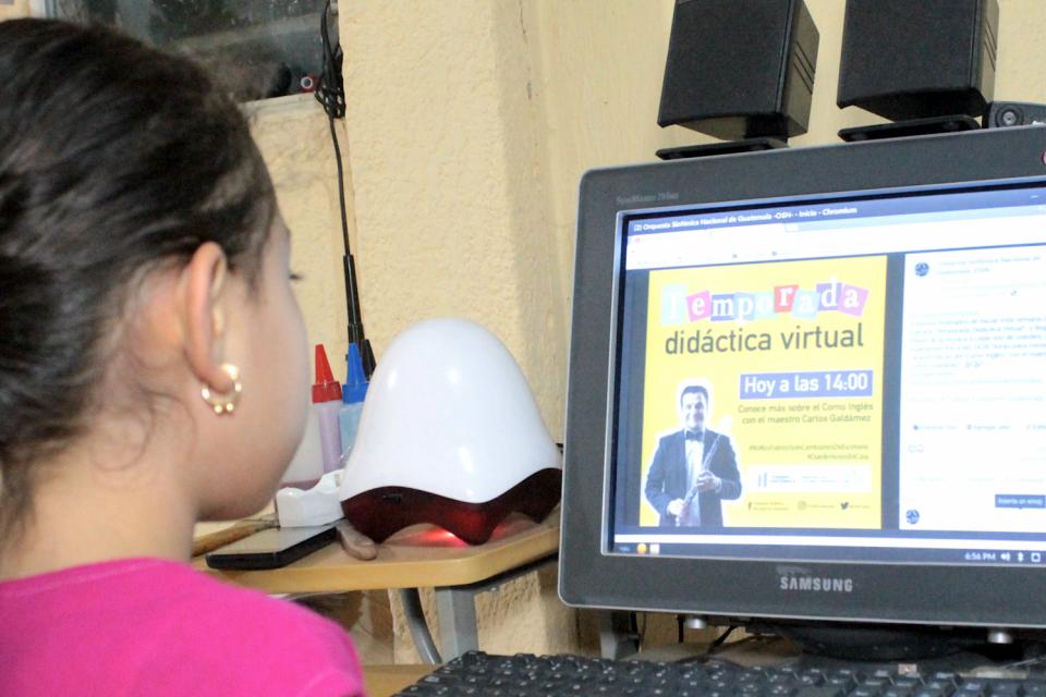 "Orquesta Sinfónica Nacional presenta por primera vez ""Temporada Didáctica Virtual"""