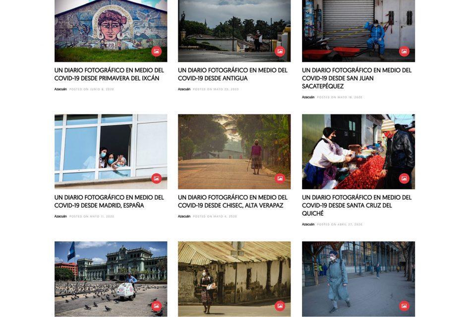 Diez diarios fotográficos en medio del Covid-19